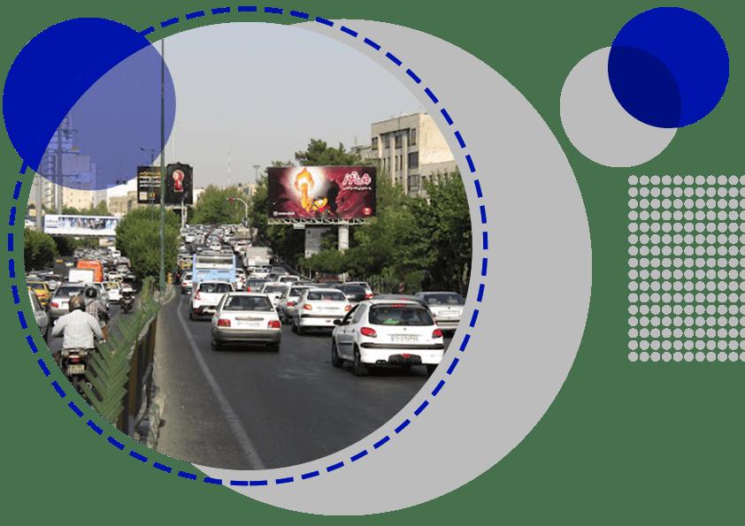 مجری تبلیغات محیطی در محمودآباد